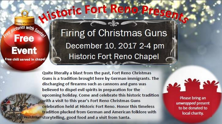Fort Reno Christmas Guns 2017