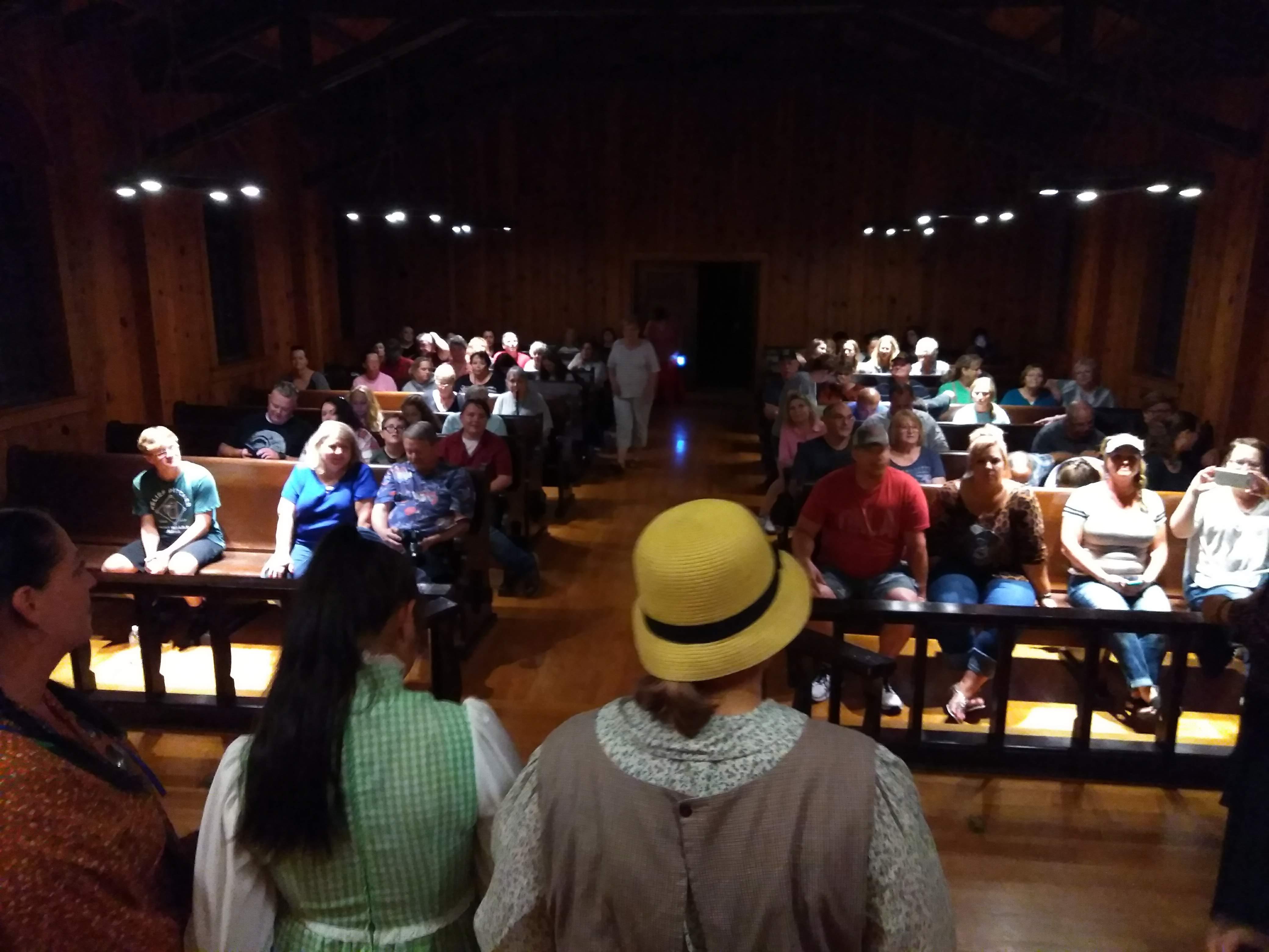 Group Chapel Inside
