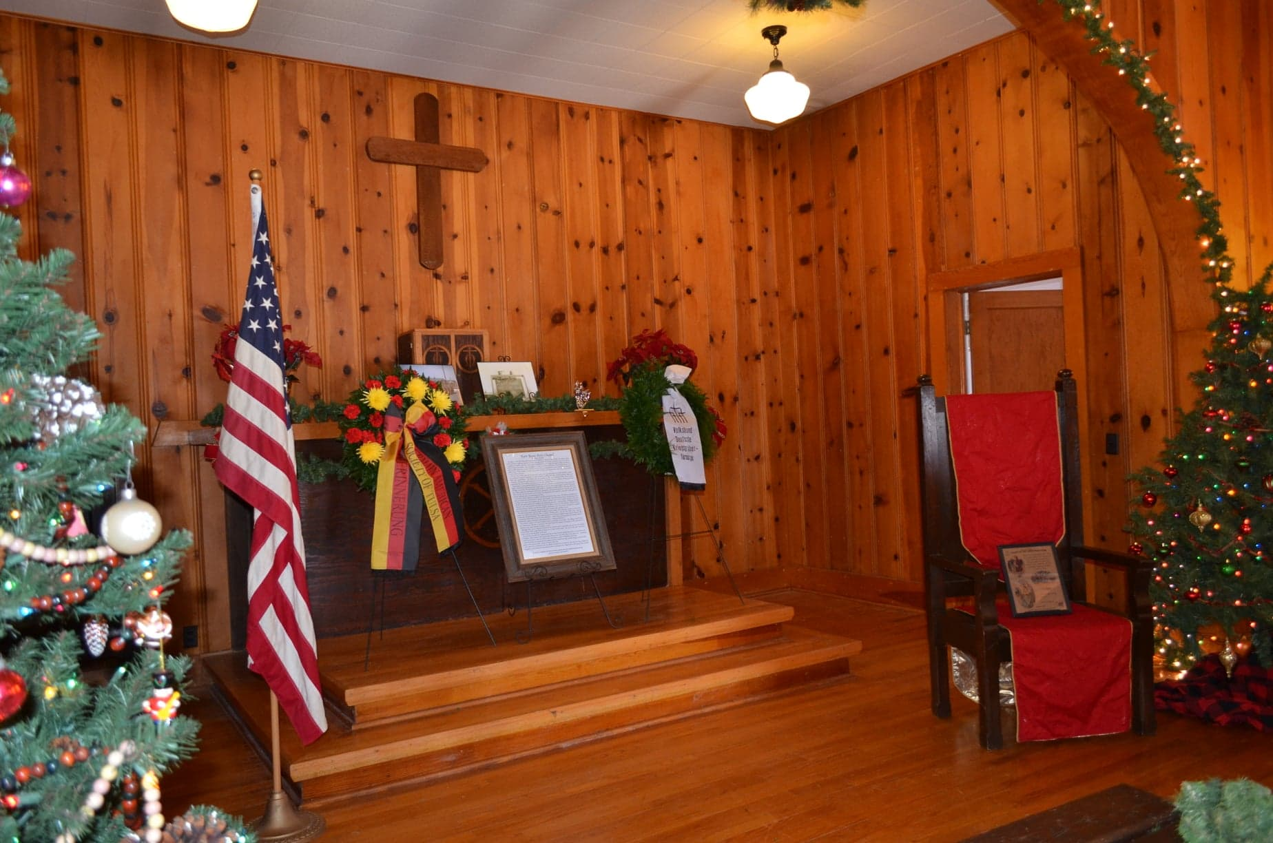 German Memorial Day 2019 Inside Chapel