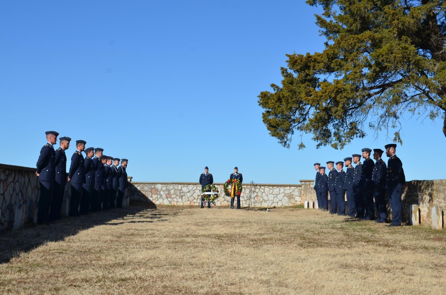 POW Cemetery Fort Reno 2019