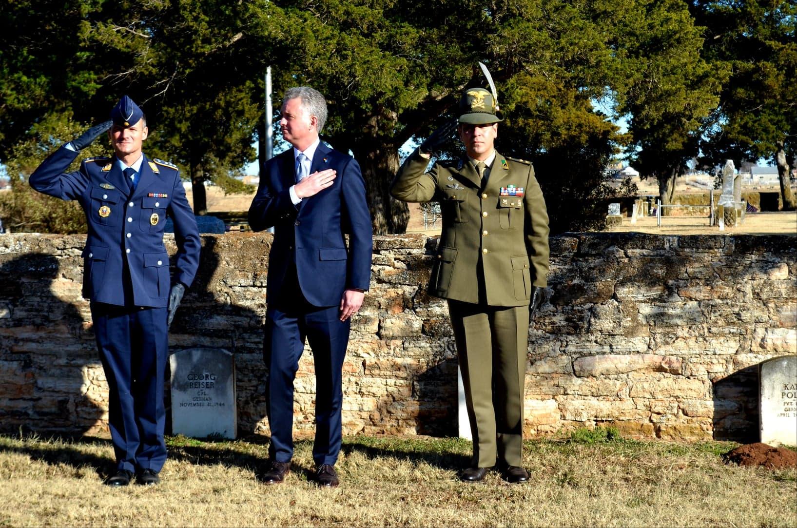 POW Cemetery Fort Reno Uniforms