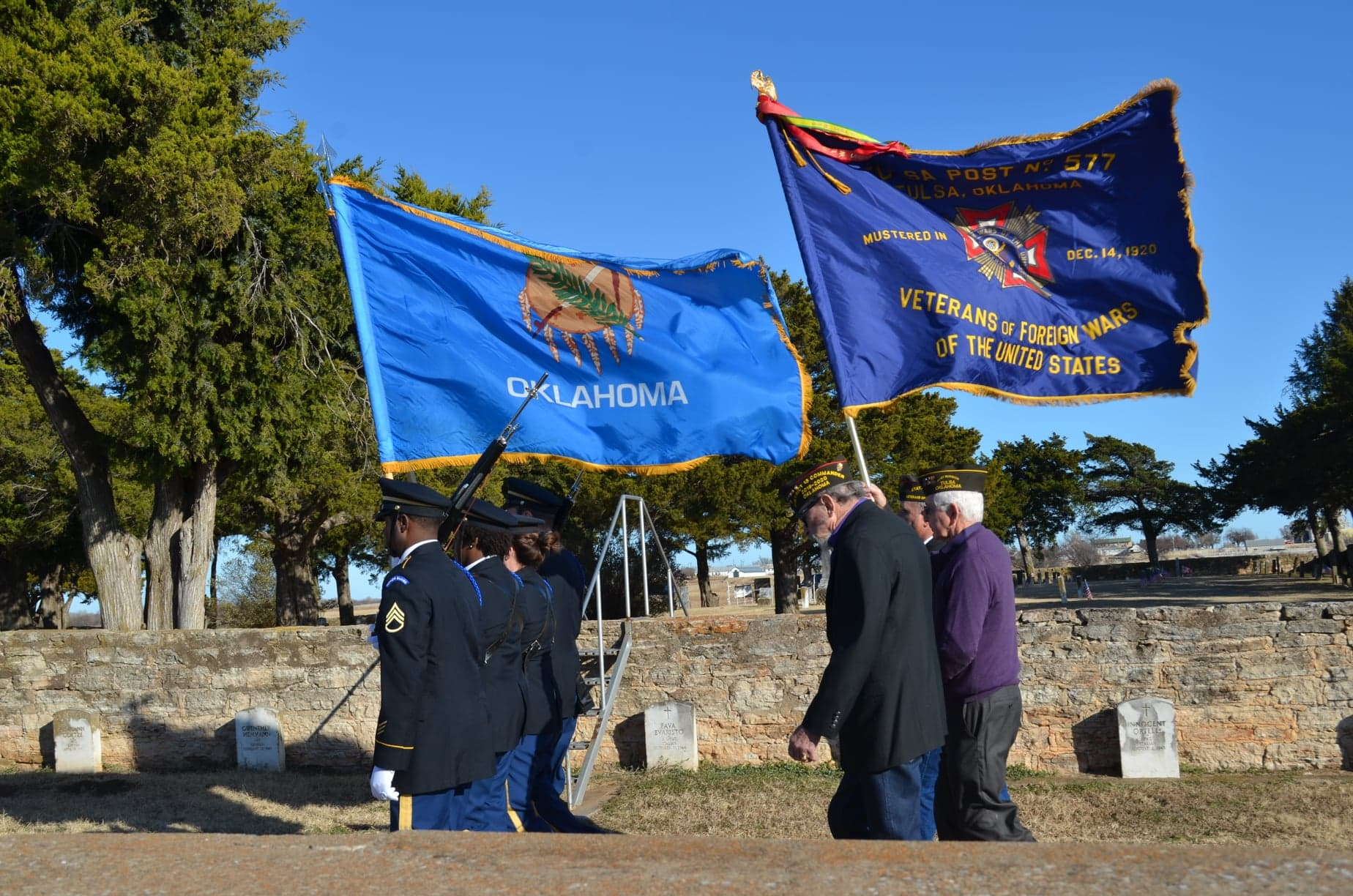 VFW Fort Reno Cemetery