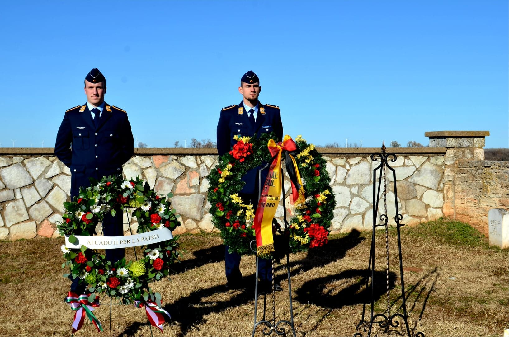 Wreath Ceremont POWs 2019